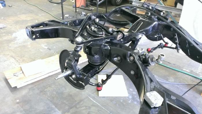 Make a custom air-ride suspension system.