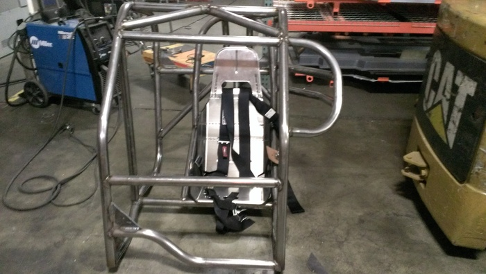 Make a custom roll cage that conforms to the SCTA safety requirements.