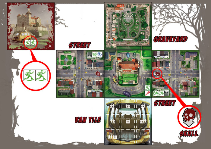 how to play zombies board game