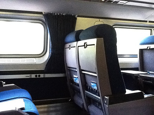 The seats are almost identical to planes, as in just as bad!