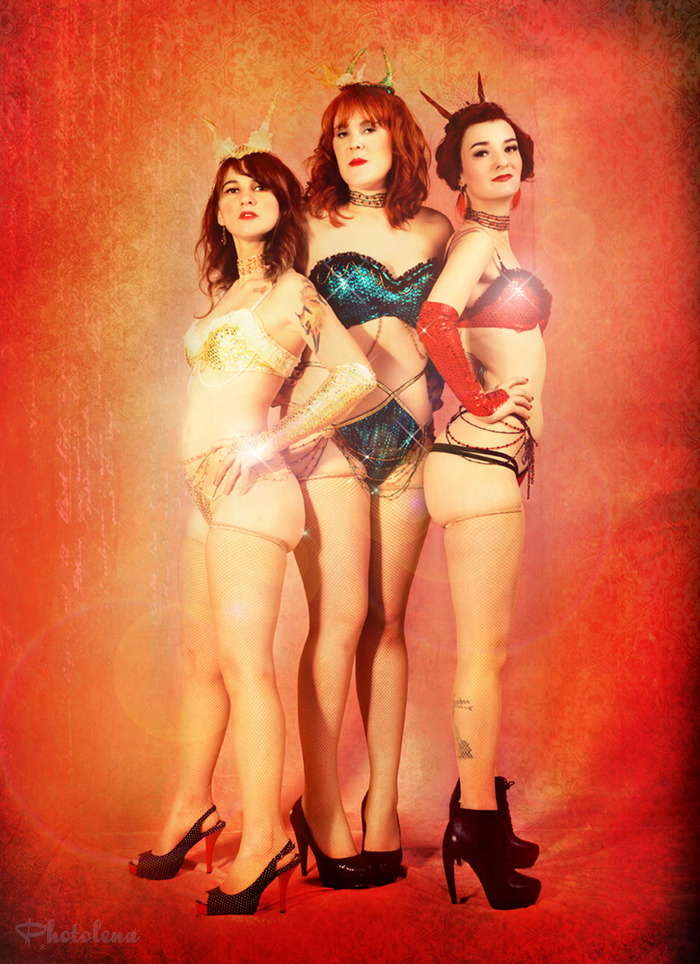 Featured Pick a Card Performers Nerd Girl Burlesque