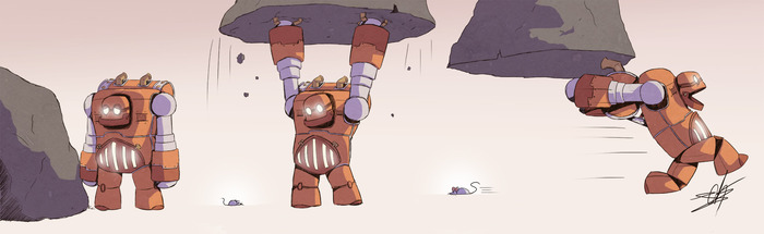 Stinky Robot - Steve!