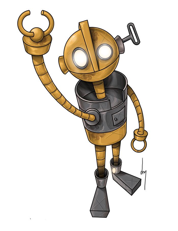 Stinky Robot - Daniel
