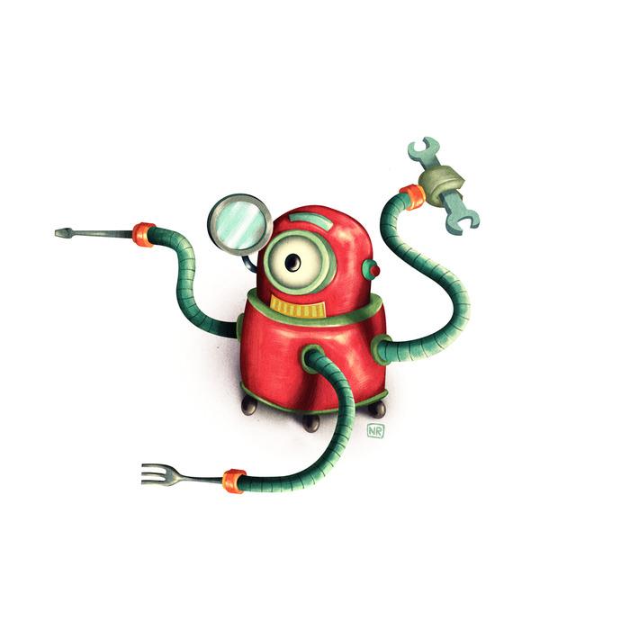 Stinky Robot - Benny Fixit