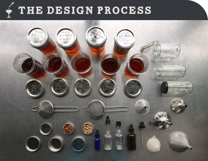 A lot of research goes into curating the perfect components and flavors.