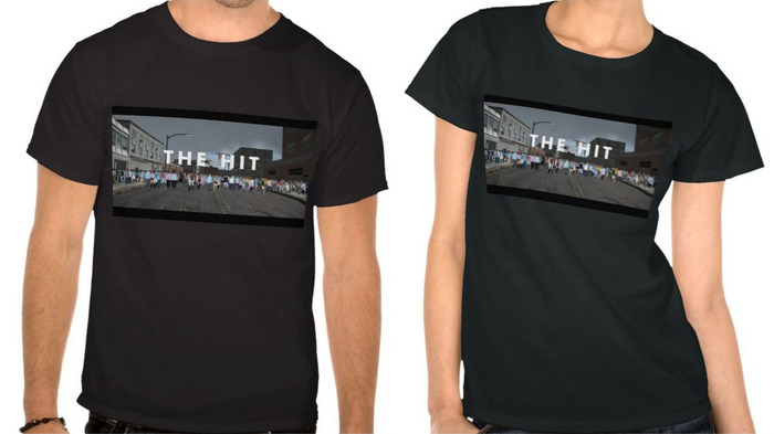 T-shirt designs are not final. Backers will have a choice of at least three different designs.