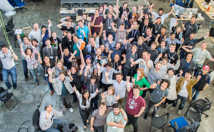 All of the Neurogaming Brainihack hackers!
