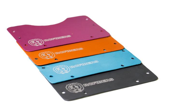 The D16 Anodized Aluminum Color Options