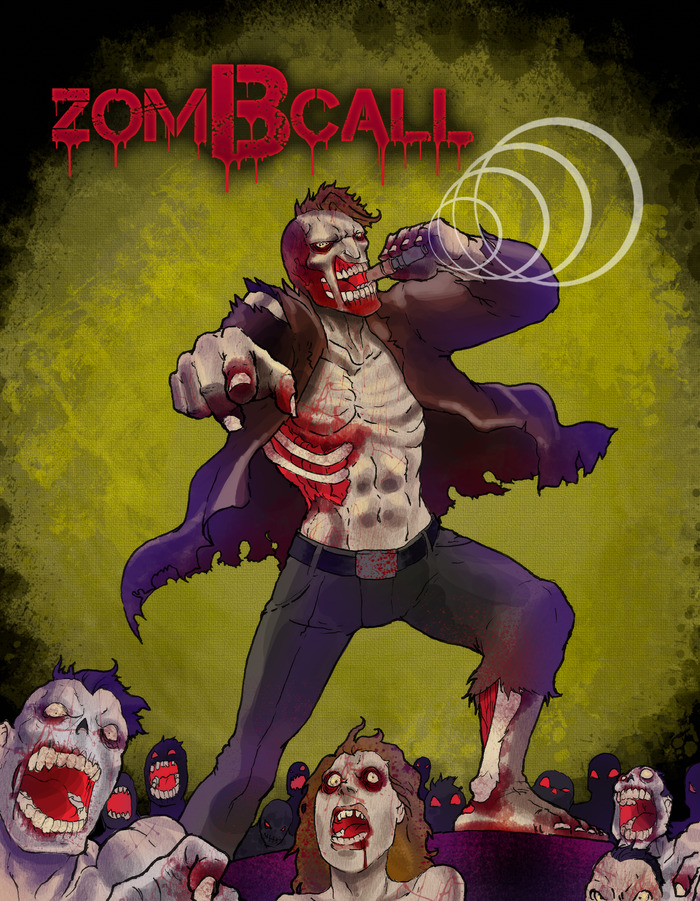 zomBcall shirt design #2
