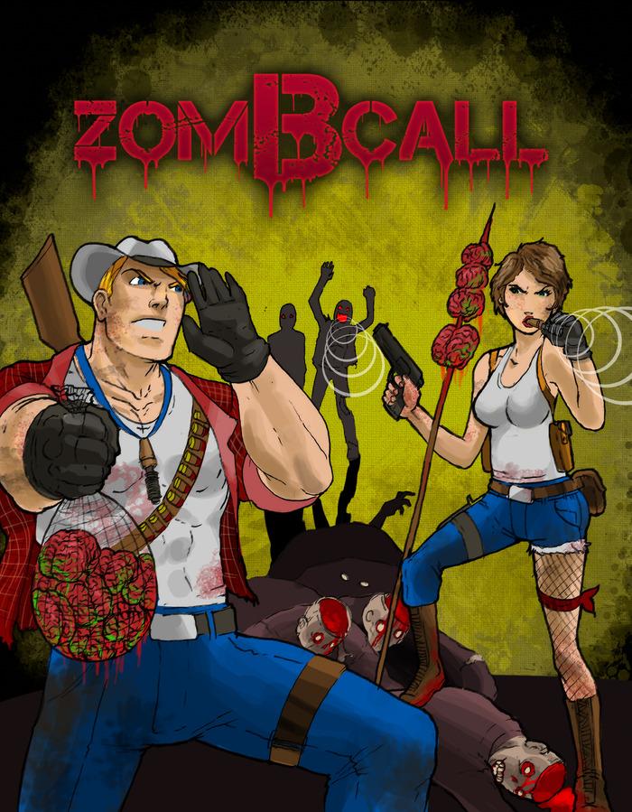 zomBcall shirt design #3