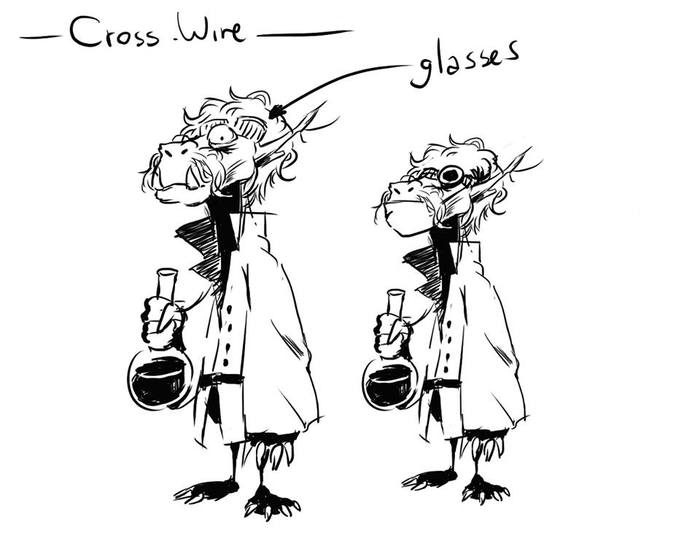 CrossWire Concept Art