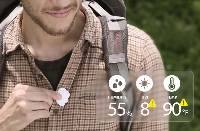 It goes anywhere. Protect yourself against the hidden elements.