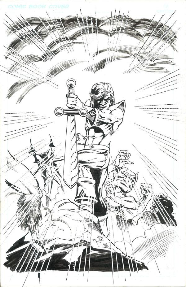 Original cover from David Miller's AVATAR series by David Miller & Joe Rubenstein