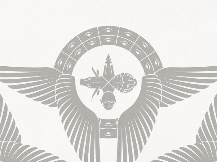 Four-headed Cherub of Ezekiel's Vision