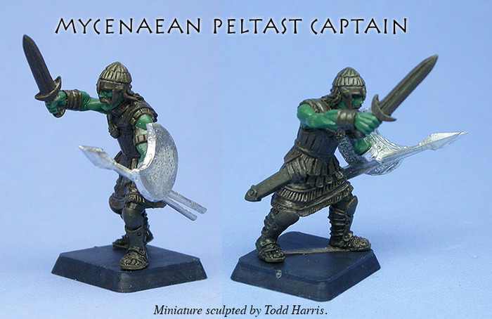 Mycenaean Peltast Captain