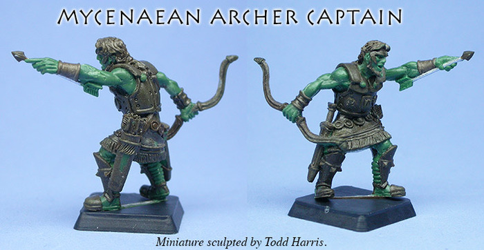 Mycenaean Archer Captain