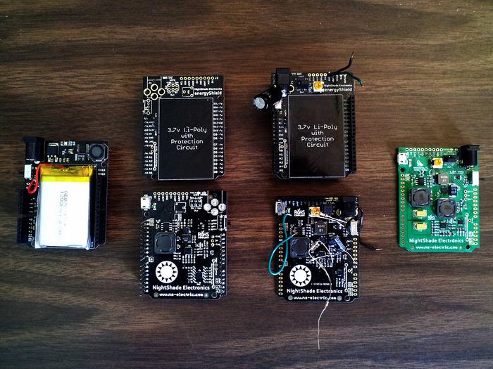 energyShield Prototypes - Kickstarter to Present