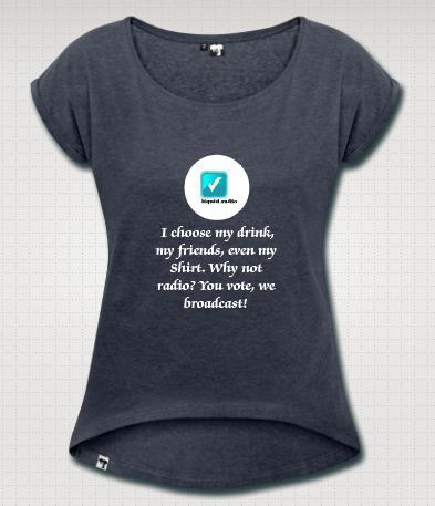 Girl's choice t-shirt - Pledge $25 or more