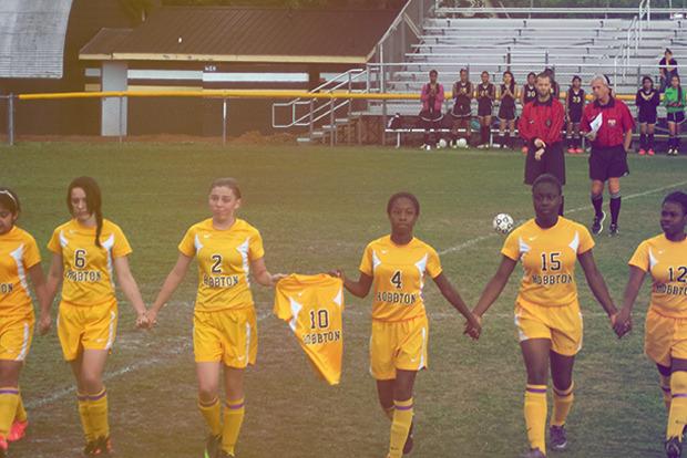 Hobbton Middle School soccer team [Newton Grove, NC]