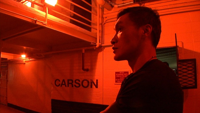 Eddy at Carson section inside San Quentin state prison, 2012
