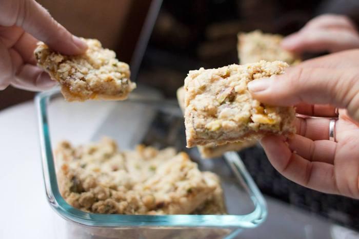 Golf Alpha Yankee Crumble Bar Cookies