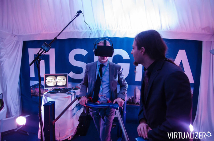 The Virtualizer (Prototype 2) in action at the MIPIM