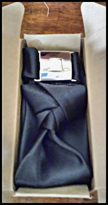 First delivered TieBros tie, custom made for the gentleman
