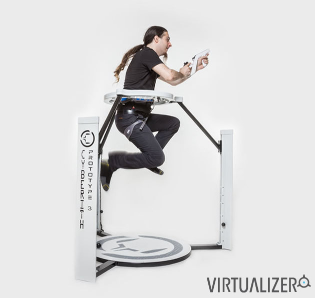 Cyberith Virtualizer Immersive Virtual Reality Gaming By