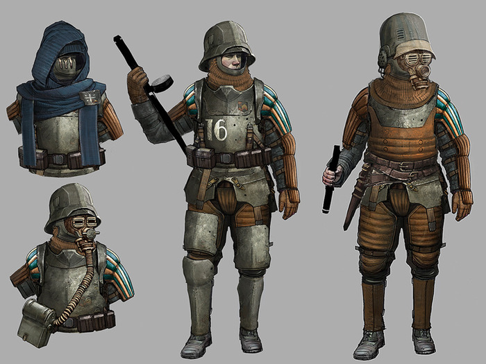 more armor slots german