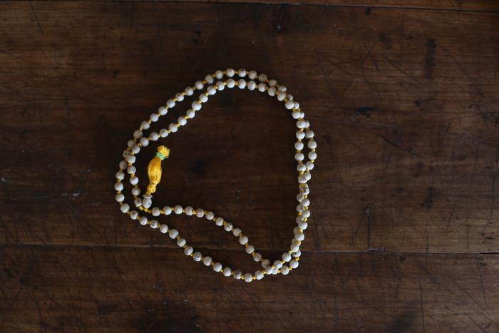 Mala (Buddhist rosary) from Dharamsala, India.