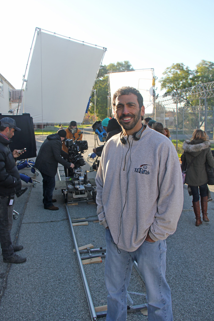 """READY TO ROLL: Producer STEVE KRIOZERE (NCIS, Castle, VIP)  ready for """"action"""""""