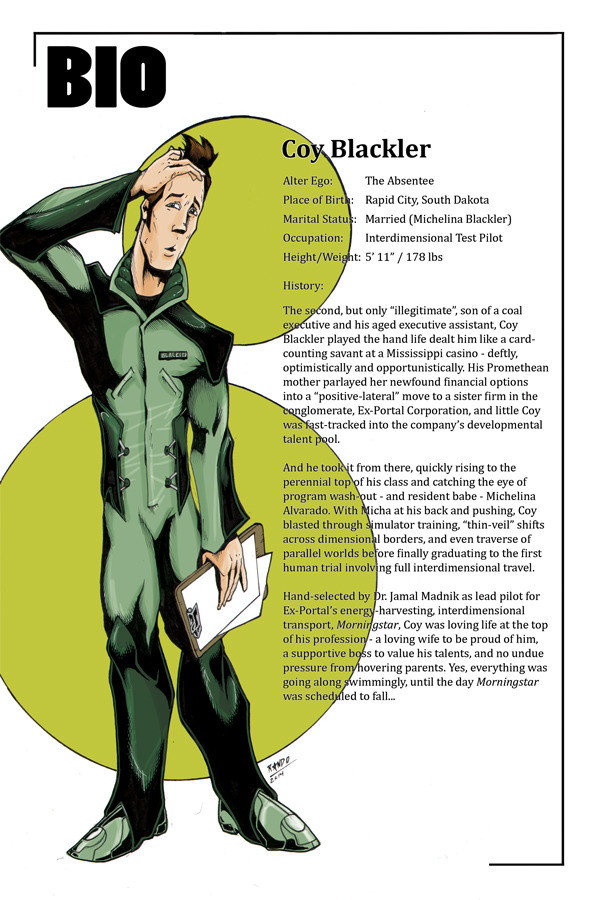 Sample Handbook-Style Bio Page for Coy Blackler!