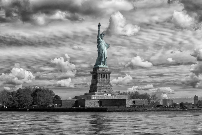One of my Travelog Images of Lady Liberty