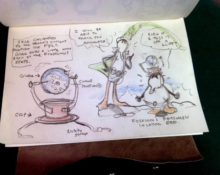 original frostling sketchbook premium