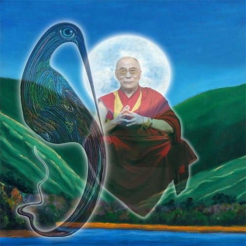 Mutagle with the Dalai Lama