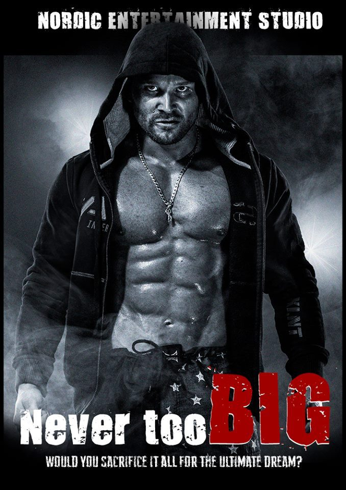 Never Too Big short pre-sequel Poster by Jon Klasbu