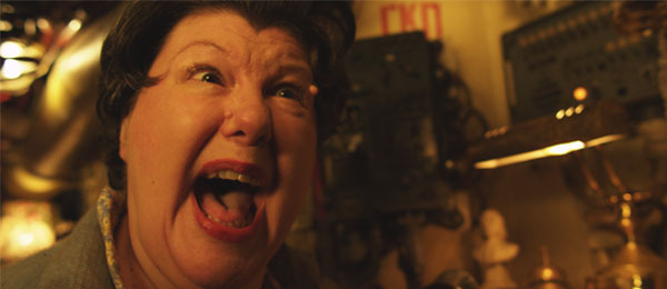 Mildred yelling for your pledge!