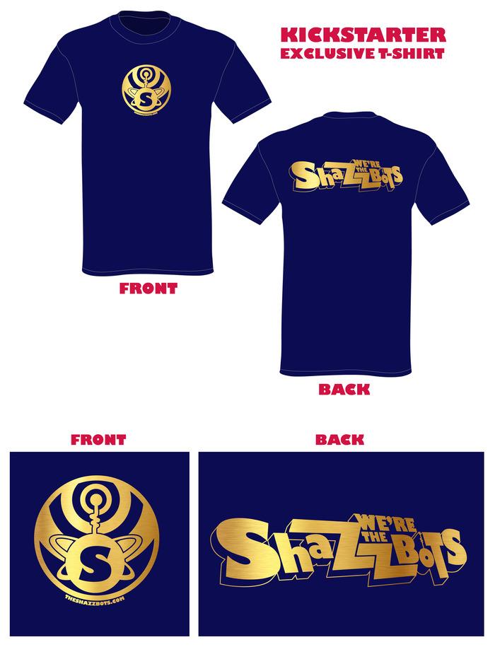 Exclusive Kickstarter T-Shirt!