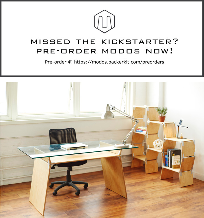 Pre-order Modos Furniture Here, https://modos.backerkit.com/preorders