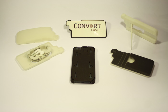Additional prototypes of the Convert Case and Backs
