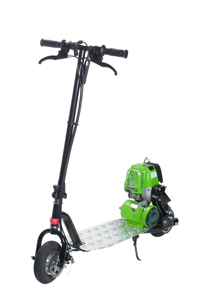Small Engine Scooters : Propane powered motor scooter go clean green progo