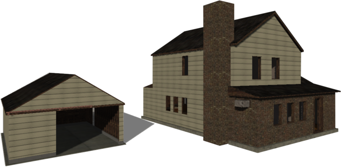 Have our 3d artist make a replica of your house or chosen structure in game. (must be practical)