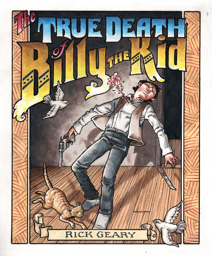 Cover art for the graphic novel.