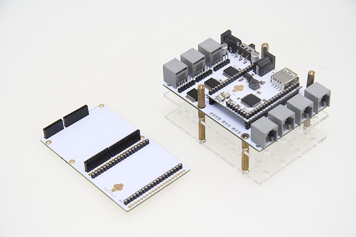Hippo-Arduino (left), Hippo-LEGO (right)