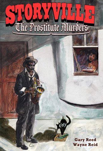 Cover to Storyville graphic novel