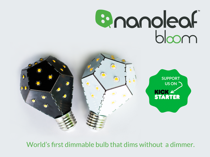 Our new Nanoleaf Bloom has launched on Kickstarter!