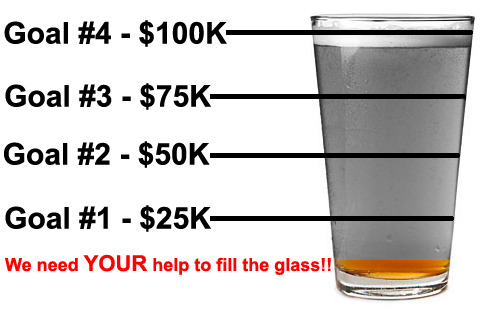 Please help us fill the glass!!
