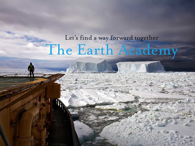 11x17 Earth Academy poster