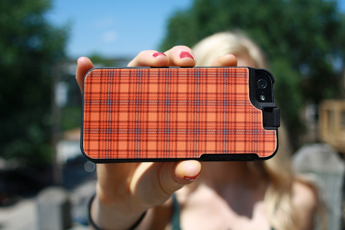 The Convert Case with a custom image Flat Back