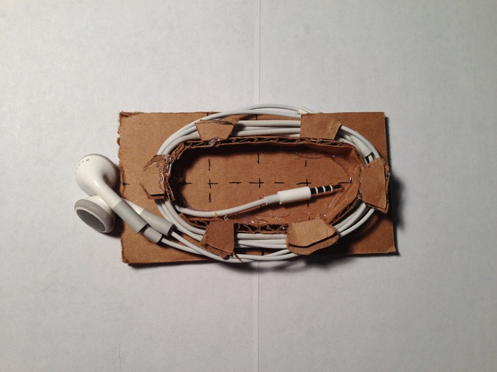 Earbud Holder Initial Mock-up